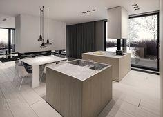 q-house single family house interior design, Grudziądz.