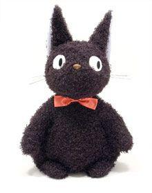 Fluffy Jiji from Kiki's Delivery Service