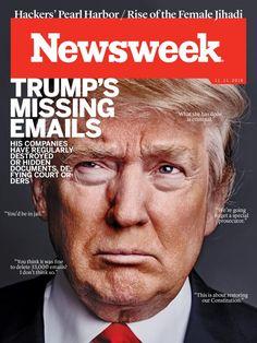 Magazine Cover: Newsweek (November 11, 2016) - Donald Trump