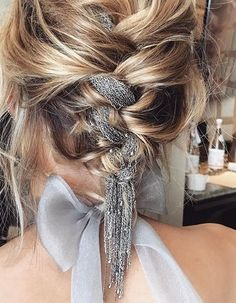 A totally new braided updo..