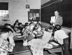 4-H Club Meeting, 1952.This was about the timed I belonged to 4-H.