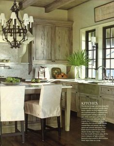 Things We Love: Eat-In Kitchens - Design Chic Design Chic