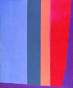 """Charles Pollock's paintings on display at the Peggy Guggenheim Collection in Venice include """"Delta"""" from 1967."""