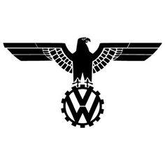 """WWII era Volkswagon, """"Cog Emblem."""""""