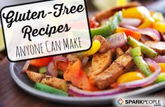 12 Easy Gluten-Free Dinners via @SparkPeople