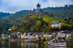 """""""Look to your left and you'll be gazing out onto Lake Constance, where you can spy on Austria and Switzerland with ease."""""""