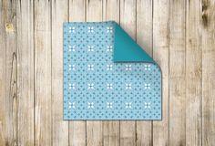 ☁ Designpapier 180 mm x 180 mm Hellblau-Weiss (60115) www.s-chick.de ☁ #papier #scrapbooking #origami #designpapier #basteln #papierbogen #paper