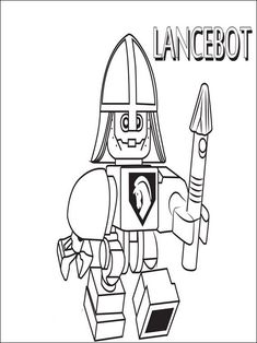king halbert nexo knights ausmalbilder 01 | ausmalbilder | malvorlagen, ausmalbilder und ausmalen