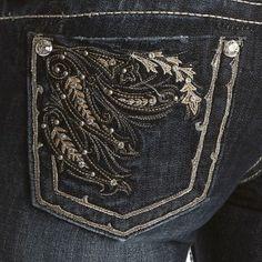 Miss Me Flourish Boot Cut Jeans - Jeans - Women's Western Clothing - Womens  #PFIwesternOldGringo