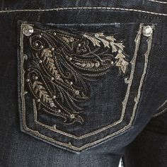 Miss Me Flourish Boot Cut Jeans - Jeans - Women's Western Clothing - Womens  #PFIwesternOldGringo