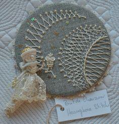 TAST week 5 (my work) herringbone stitch