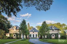 A design team creates an elegant Hinsdale residence grounded in the style of a European Country Home.