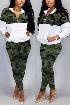 Camouflage Fashion, Camo Fashion, Fall Fashion Outfits, Autumn Fashion, Cheap Fashion, 70s Fashion, Korean Fashion, Latest Fashion, High Fashion