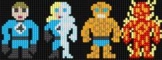 Lite Brite Brutes: Fantastic Four I Fantastici Quattro Hama Beads, Transformers, Iron Man, Deadpool, Lite Brite, Stitch Cartoon, Melting Beads, Charts And Graphs, Alpha Patterns