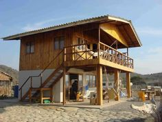Bamboo House Design, Tropical House Design, Simple House Design, Village House Design, Bungalow House Design, Tiny House Design, Cottage House Plans, Small House Plans, Hut House