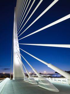 Serreria Bridge / Valencia (Gallery) - Santiago Calatrava – Architects & Engineers