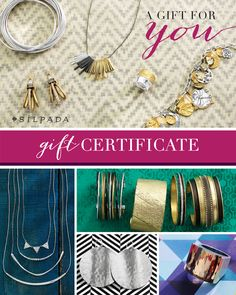 $25 Gift Certificate | Jewelry by Silpada Designs