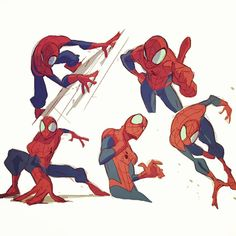 the guy I draw all the time at work! #spiderman #ultimatespiderman