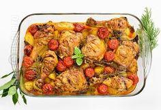 Pulpe de pui cu cartofi la cuptor – reteta video via @JamilaCuisine Cooking Tips, Cooking Recipes, Romanian Food, Romanian Recipes, Americas Test Kitchen, Kung Pao Chicken, Chicken Recipes, Chicken Ideas, Turkey