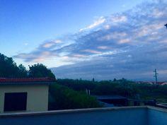 Dal terrazzo di casa-Capena