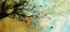 Alanna Sparanese is a full time encaustic artist using oil paints,powder pigments,drawings and photography.Inspired by nature, open skies, and contrast....her work stirs a deeper connection in all of us reflected in her luminous layers and marbled skies.