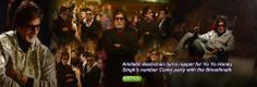 Amitabh Bachchan turns rapper for Yo Yo Honey Singh's number Come party with the Bhoothnath