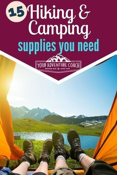 Must have hiking and camping gear guide - Going camping this summer? Check out this must have camping gear list first! Must Have Camping Gear, Camping Bedarf, Camping Checklist, Camping With Kids, Family Camping, Camping Hacks, Camping Ideas, Camping Toilet, Bushcraft Camping