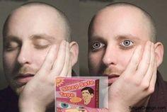 Ojos adhesivos para... Mmmhhhh.... Pues igual no es tan tonto el invento...
