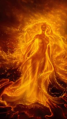 Before she became fire, she was water. Quenching the thirst of every dying creature. She gave and she gave until she turned from sea to desert. But instead of dying of the heat, the sadness, the heartache. She took all of her pain and from her own ashes became fire. ~ Nikita Gill