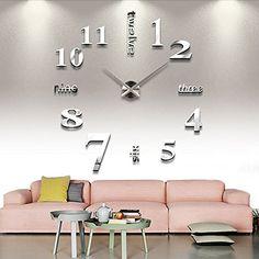 時計の文字盤を壁に自由自在に設置!DIYウォールクロック https://room.rakuten.co.jp/room_jp/1700006500213305?scid=we_rom_pinterest_official_20151022_r1