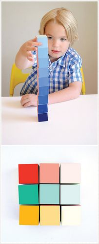 MerMagHandmadeCharlotteGradientBlocks by mer mag, via Flickr