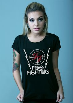 Blusa Foo Fighters :: Foo Fighters T-Shirt