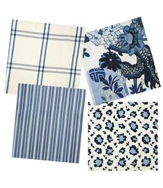 Sarah Richardson's fabric choices for her summer house