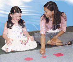NAMC Montessori three period lesson explained example teacher and student