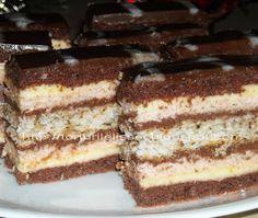 Romanian Desserts, Food Cakes, Nutella, Tiramisu, Cake Recipes, Biscuits, Sweet Treats, Ice Cream, Sweets