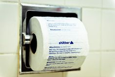 Shitter: App Prints Your Tweets on Toilet Paper