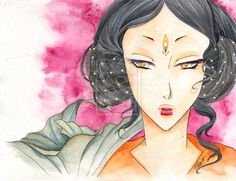 Lotus and Pearls by =GisaPizzatto on deviantART