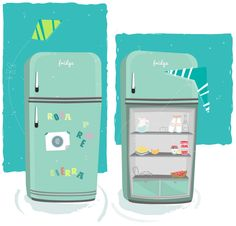En mi nevera - Inside my fridge