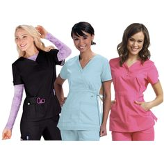 Apparel for Nurses and Students: Scrub tops and pants, lab coats, compression stockings, socks, and undershirts. From our favorite brands; including: Koi, Barco (plus the Grey's Anatomy line), Cherokee, Dickies, Orange Standard, and Med Couture. From iStudentNurse