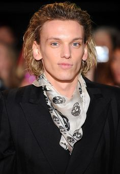 Jamie Campbell Bower arriving for the premiere of The Twilight Saga: Breaking Dawn Part 2