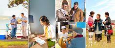 Testigos de Jehová participando en diferentes tipos de predicación