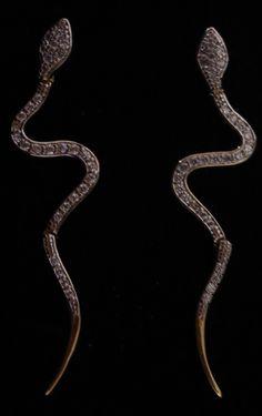 Brinco Cobra de Zirconia Cod 65 S
