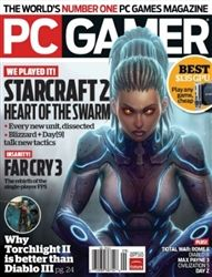 PC Gamer Magazine September on sale now at www.shipzoo.com Video Game Magazines, Tech Magazines, Pc Gamer Magazine, First Person Shooter, Total War, Single Player, Games To Play, Pc Games, Job S