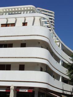 Bauhaus architecture at Tel Aviv
