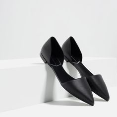 FLAT D'ORSAY SHOES-Flats-SHOES-WOMAN | ZARA United States
