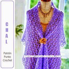 Patrones crochet de chal delicado para toda ocasión   Crochet y dos agujas