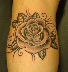 #Beautiful #rose #tattoo