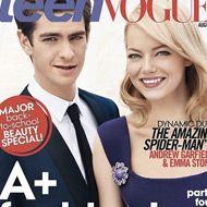 Emma Stone et Andrew Garfield en une de Teen Vogue