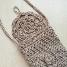 Items similar to Crossbody phone case Shoulder iphone cover Crochet bag Small vegan purse Festival iphone case Boho summer pouch beige rustic style on Etsy Crochet Wallet, Crochet Phone Cases, Knit Crochet, Crochet Handbags, Crochet Purses, Iphone Cover, Iphone Phone, Macrame Patterns, Crochet Patterns