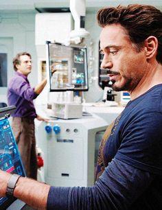 Bruce and Tony -- The Avengers